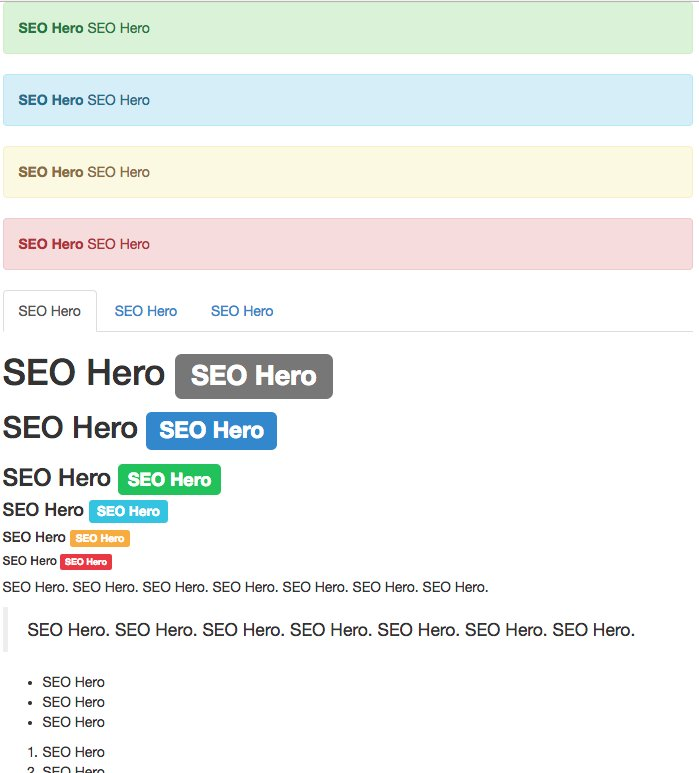 A hilariously SEO optimized page for the Wix SEO Hero competition