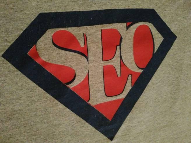 SEO Hero logo tshirt